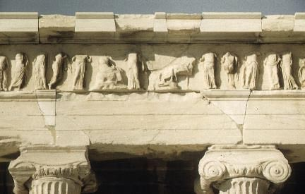Temple of Athena Nike: East frieze